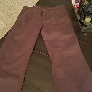 Seven For All Mankind brown wide leg dress khakis